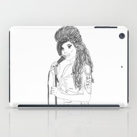 amy hamilton iPad Cases featuring Amy by PintoQuiff