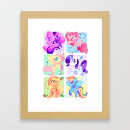 M6 Framed Art Print