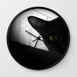 Loko's Dark Intentions: Secretly Plotting Your Demise Wall Clock