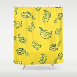 Bananal Pattern Shower Curtain