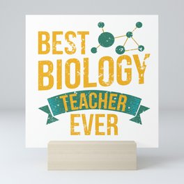 Funny Biology Biologist Meme Quote Teacher Gift Mini Art Print
