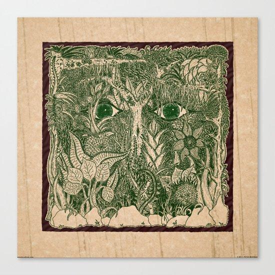 gaia mandala Canvas Print