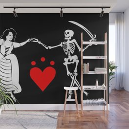 Pirate Queen Jacquotte Delahaye's Flag Wall Mural