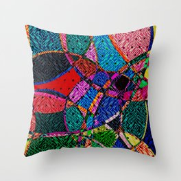 Festival Knit Throw Pillow