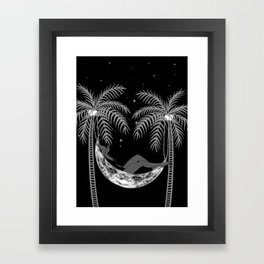Summer Nights Framed Art Print