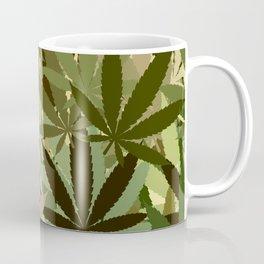 95a6f9a2a3b Marijuana Leaves Coffee Mugs | Society6