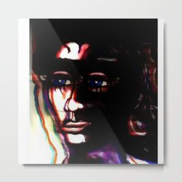 Placed in the dark Metal Print