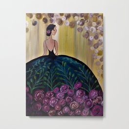 Ballroom Beauty Metal Print