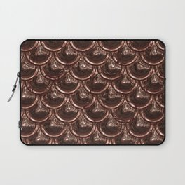 Precious Shimmering Copper Scales Laptop Sleeve