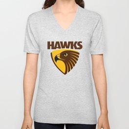 HAWKS AFL Unisex V-Neck