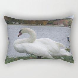 Swan  Rectangular Pillow
