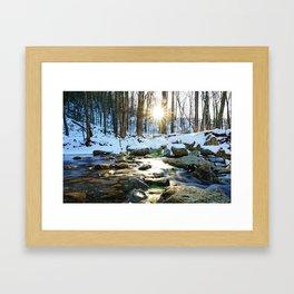 Wintry Light Framed Art Print