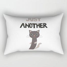 Just another cat Rectangular Pillow