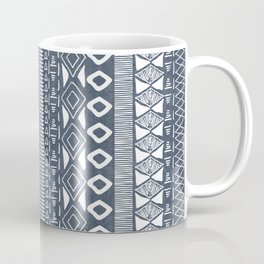 Adobe in Navy Blue and White Coffee Mug
