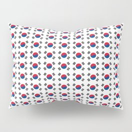 flag of south korea-korea,asia, 서울특별시,부산광역시, 한국,seoul Pillow Sham