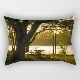 backlighting Rectangular Pillow