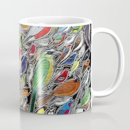 Toucans, parrots and tropical birds of Costa Rica Coffee Mug