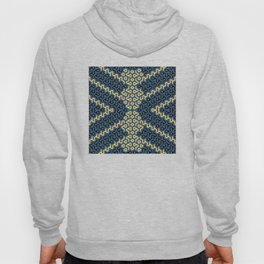 Squiggle Trails Most Awesome Yellow Red Blue and Black Hoody