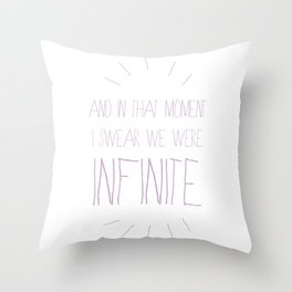 And in that moment Throw Pillow