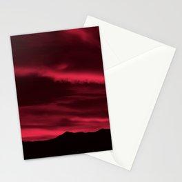SW Burgundy Sunrise Stationery Cards
