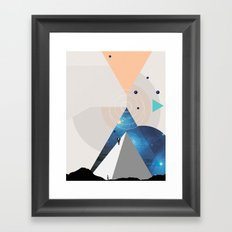 Future Of The Past Framed Art Print