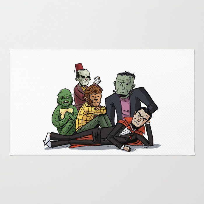 The Universal Monster Club Rug