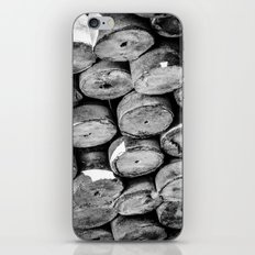 Abstract Concrete Rounds iPhone & iPod Skin