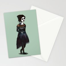 French Girl IV Stationery Cards