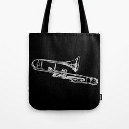 Piston Valve Trombone Tote Bag