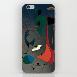 Miró's Ghost Wakes Up from a Bad Reality iPhone Skin