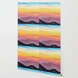 MOUNTAINS - LANDSCAPE - PHOTOGRAPHY - RAINBOW Wallpaper