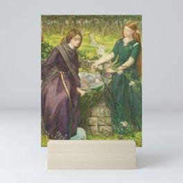 Dante Gabriel Rossetti Dante's Vision of Rachel and Leah 1855 Mini Art Print