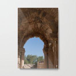Roman Ruins Arches Metal Print