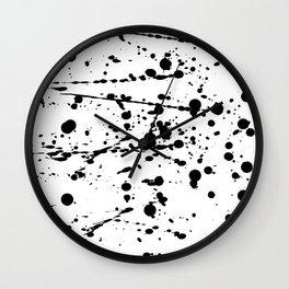 Paint Play III Wall Clock