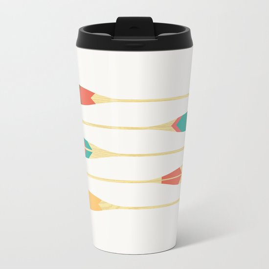 Summer Lake Metal Travel Mug