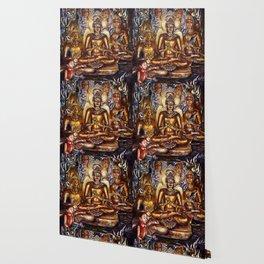Gold Buddha Wallpaper