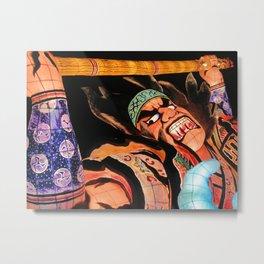 Warrior Almighty Metal Print
