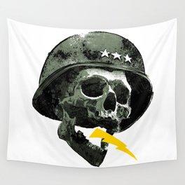 General's Skull Wall Tapestry