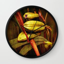 Hanging over the pond Wall Clock
