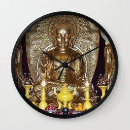 Chinese gods Wall Clock