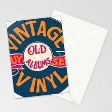 Vintage Vinyl, Old Album Stationery Cards