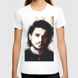 Portrait of Kit Harrington T-shirt