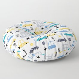 Cars Prints patterns Floor Pillow