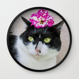 Khoshek sweet kittycat Wall Clock