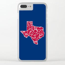 Texas Forever Clear iPhone Case