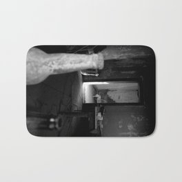 Fear of dust in my mouth is always with me Bath Mat