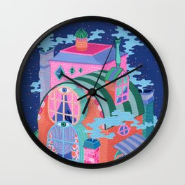 The Seeing House Wall Clock