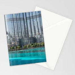 Burj Khalifa in Dubai  Stationery Cards
