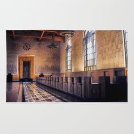 Los Angeles Union Station. Historic Ticket Counter. © J&S Montague. Rug