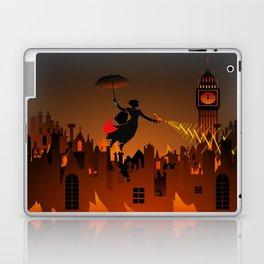 Panic on the Streets of London Laptop & iPad Skin